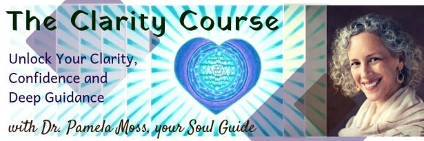 Pamela Moss - Clarity Course banner 2